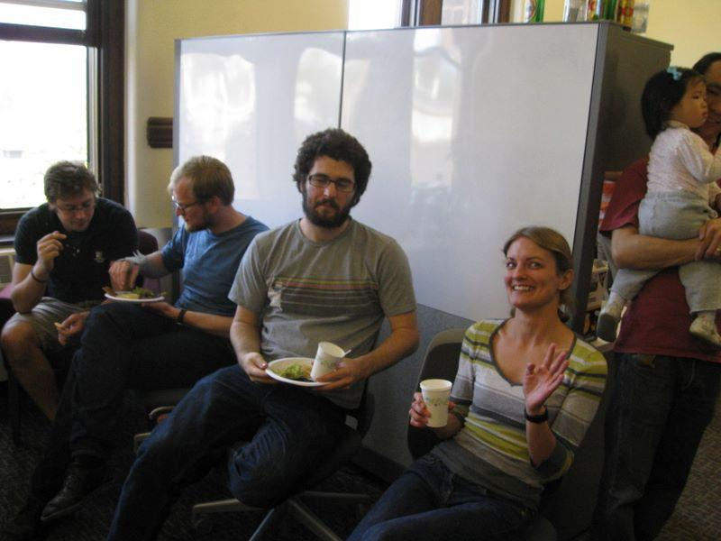 Lab warming at Yale, April 2010