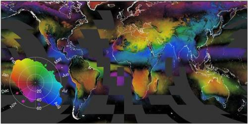 A global cloud atlas for predicting biodiversity and ecoystems