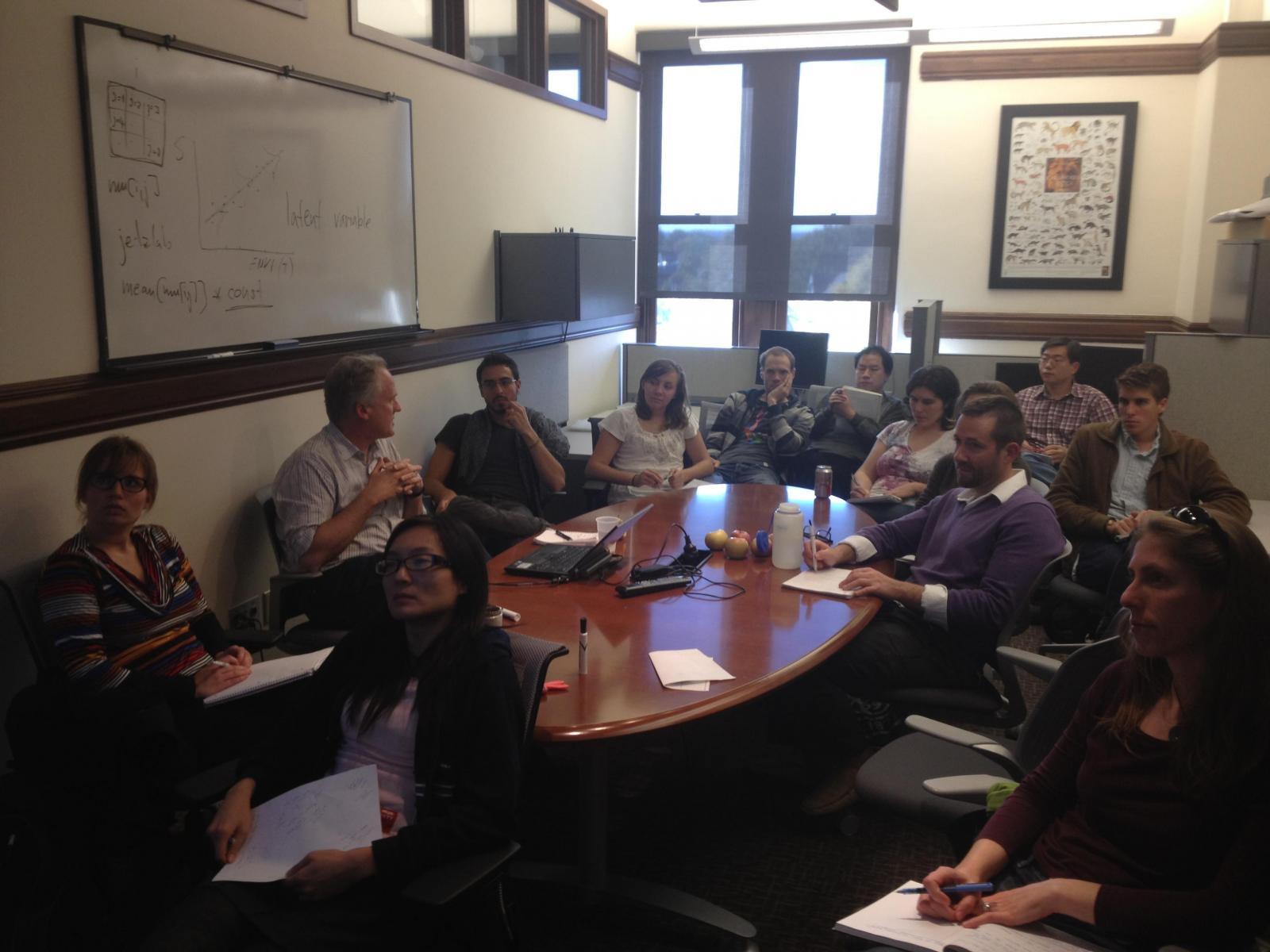Simon Ferrier Lab meeting 2012