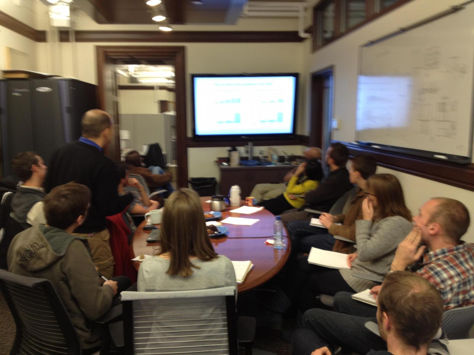 Lab Meeting 2012