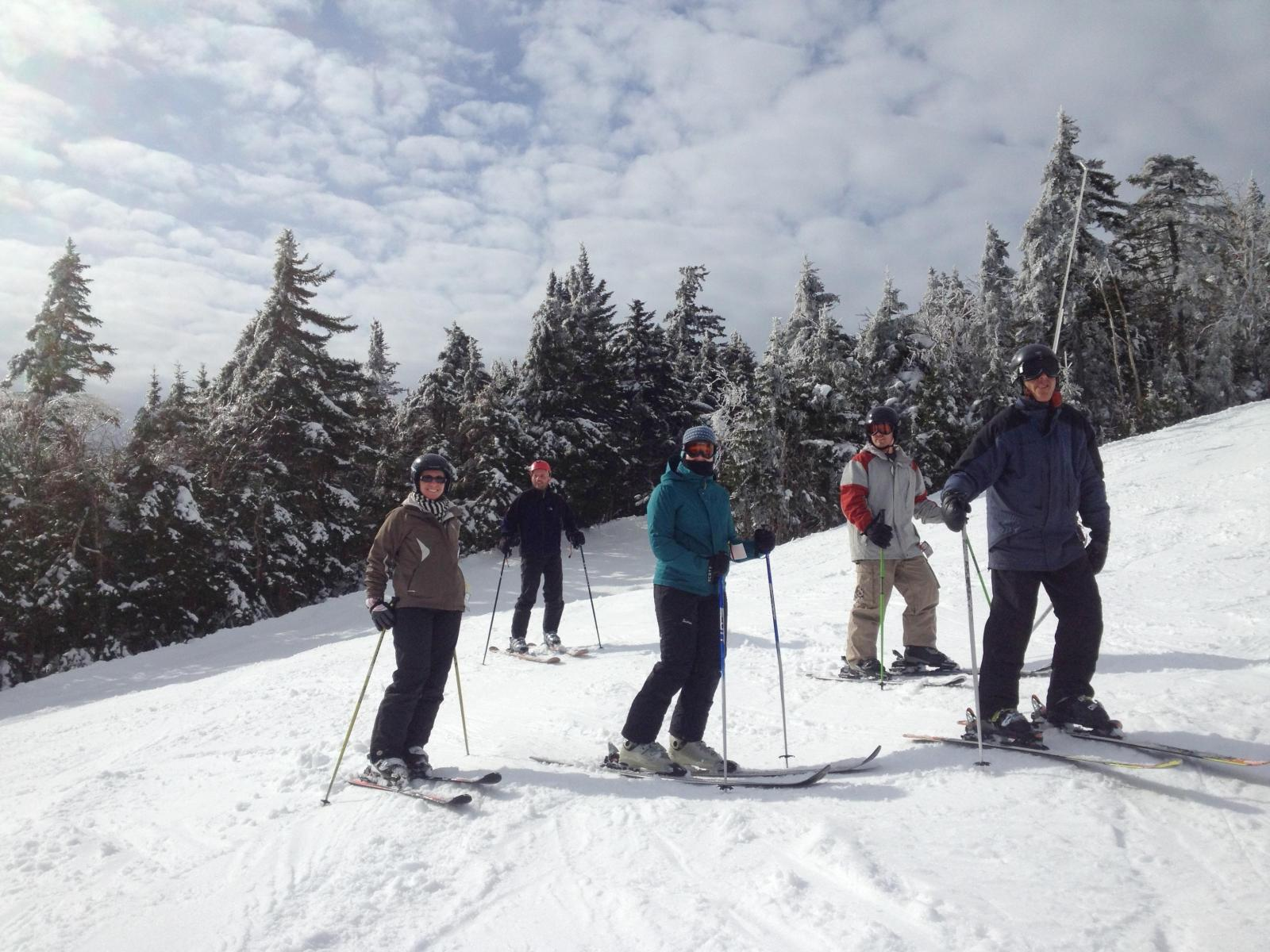 Jetz Lab Ski Weekend 2014