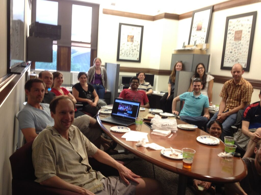 Lab meeting 2014