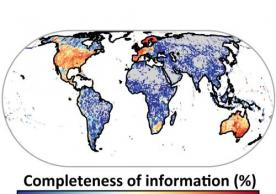New study on spatial biodiversity data gaps